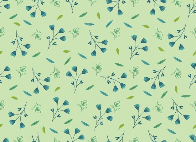 美しい熱帯の葉のシームレスなパターン。