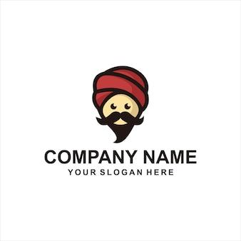 第一人者のロゴのベクトル