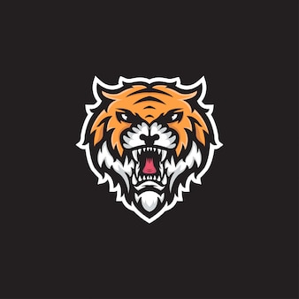 Логотип тигра киберспорта