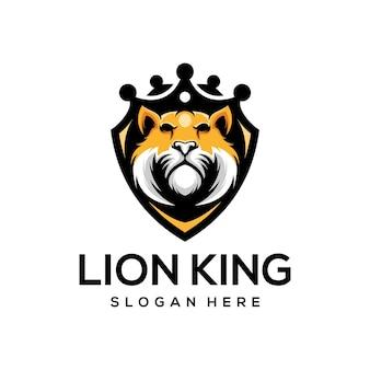 Король лев логотип иллюстрация