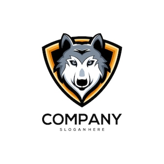 Дизайн логотипа волка