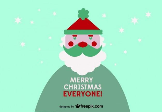 メリークリスマスみんなのはがき