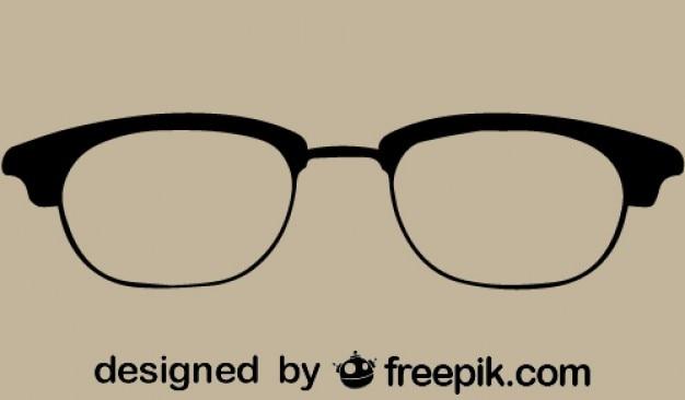 ヴィンテージクールなメガネのアイコン