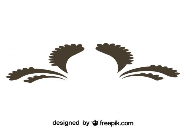 シンプルなレトロでエレガントなグラフィックデザイン
