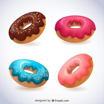 Пончики рисунок бесплатно