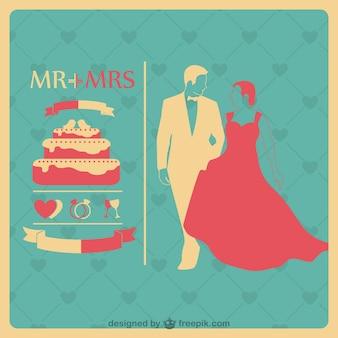 結婚式の招待状テンプレート