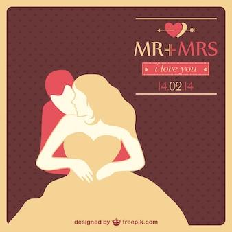 Классический свадебные приглашения