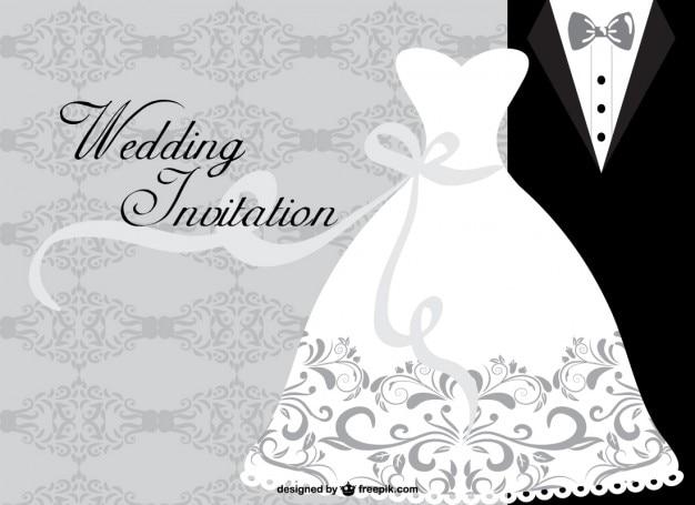 Минималистский свадебная открытка