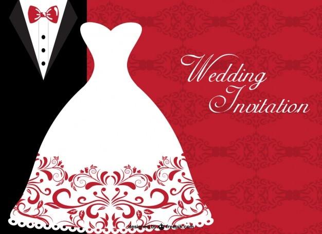 結婚式の無料テンプレート