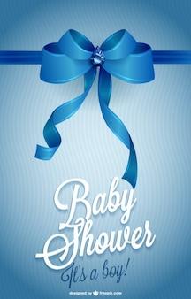 印刷可能な招待ベビーシャワー