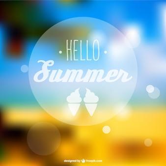夏抽象的なベクトル