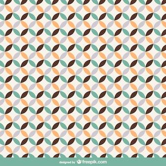 無料のレトロなシームレスパターン設計