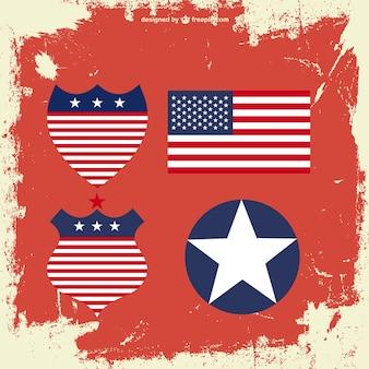 アメリカのベクトル要素