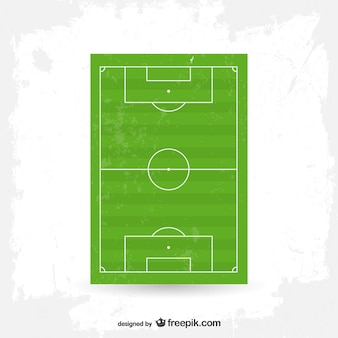 ベクトルサッカー場の無料グラフィック