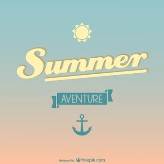 Летом свободный вектор