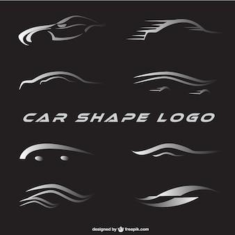 車のロゴは、設定