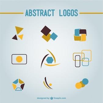Абстрактные фигуры логотипы скачать бесплатно