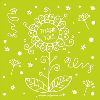 花のカードのデザイン無料ダウンロード