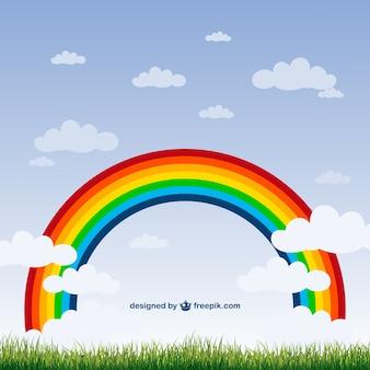 虹の自然ベクトル