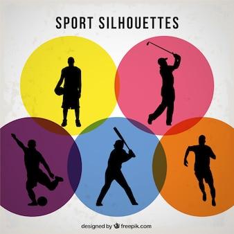 スポーツのベクトル選手