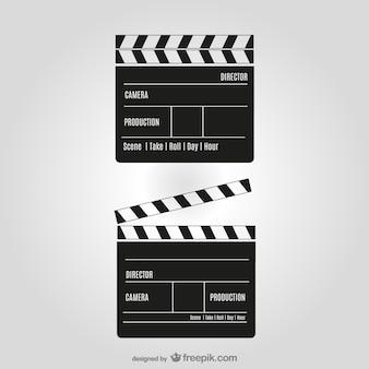 映画のクリッパーベクトル