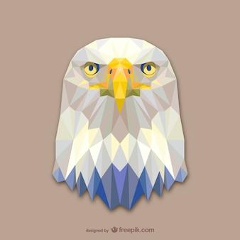 Дизайн треугольник орел