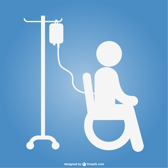 入院患者のアイコン