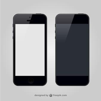 Вектор смартфонов свободного графика