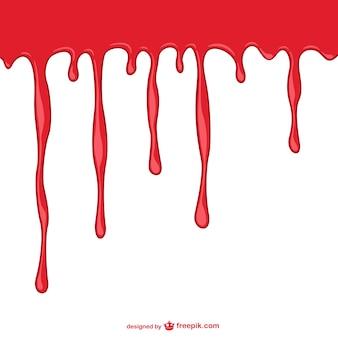 Кровотечение фон шаблон