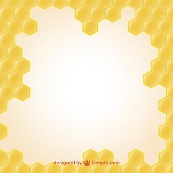 蜂蜜のイラストの壁紙
