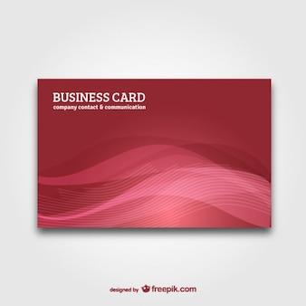 抽象的な背景ベクトルとのビジネスカード