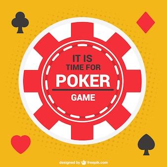 Вектор покер чип