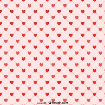 Красные сердца фон