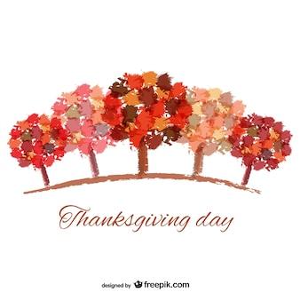 抽象感謝の日の背景