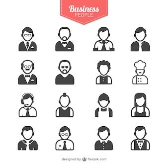 ビジネスマンのアバター