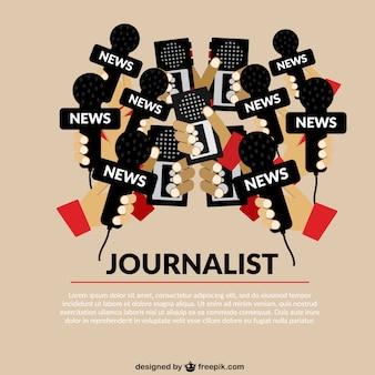 Шаблон концепция журналистики