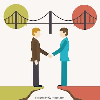人々の間の橋渡し