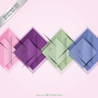 正方形と抽象的な壁紙