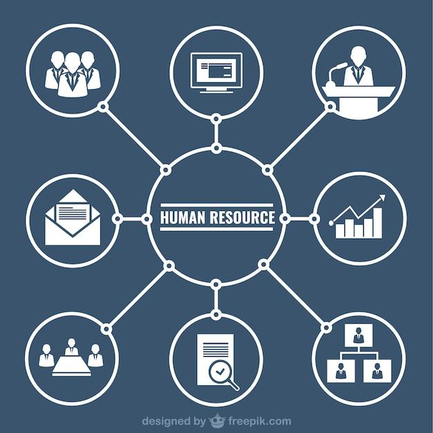 Человеческие ресурсы графический