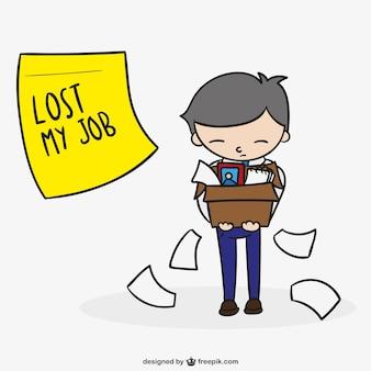 Безработный человек