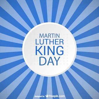 マーティン·ルーサー·キング·デー青のストライプのデザイン