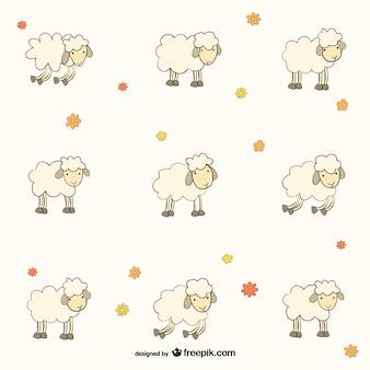 羊のパターン