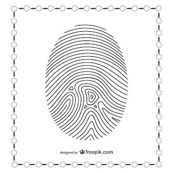 親指の指紋