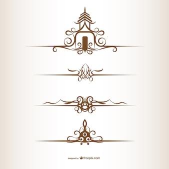 タイ風の装飾品