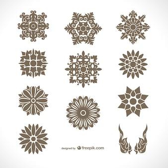 タイの装飾品パック