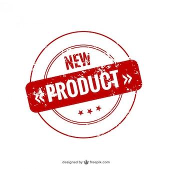 新製品シール