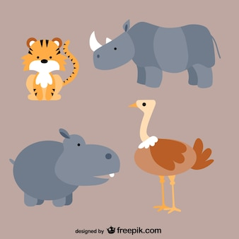 動物の漫画パック