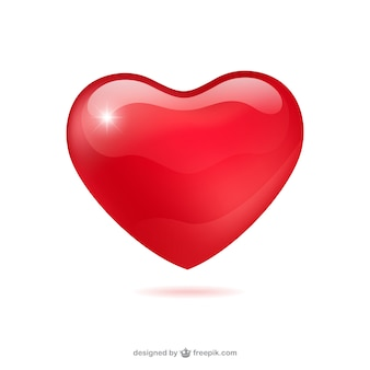 Глянцевая сердце