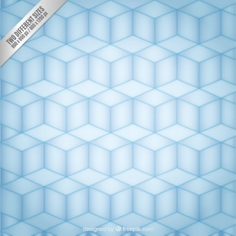 キューブとの幾何学的背景