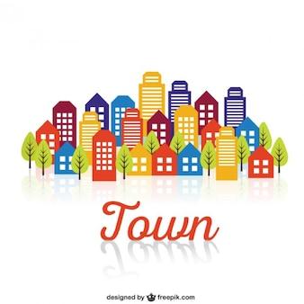 Здания в городе